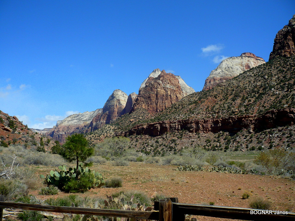 The Zion Canyon